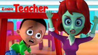 Gambar cover Guru Zombie | Lagu Untuk Halloween | Lagu Halloween anak-anak | Lagu Anak Indonesia | Zombie Teacher