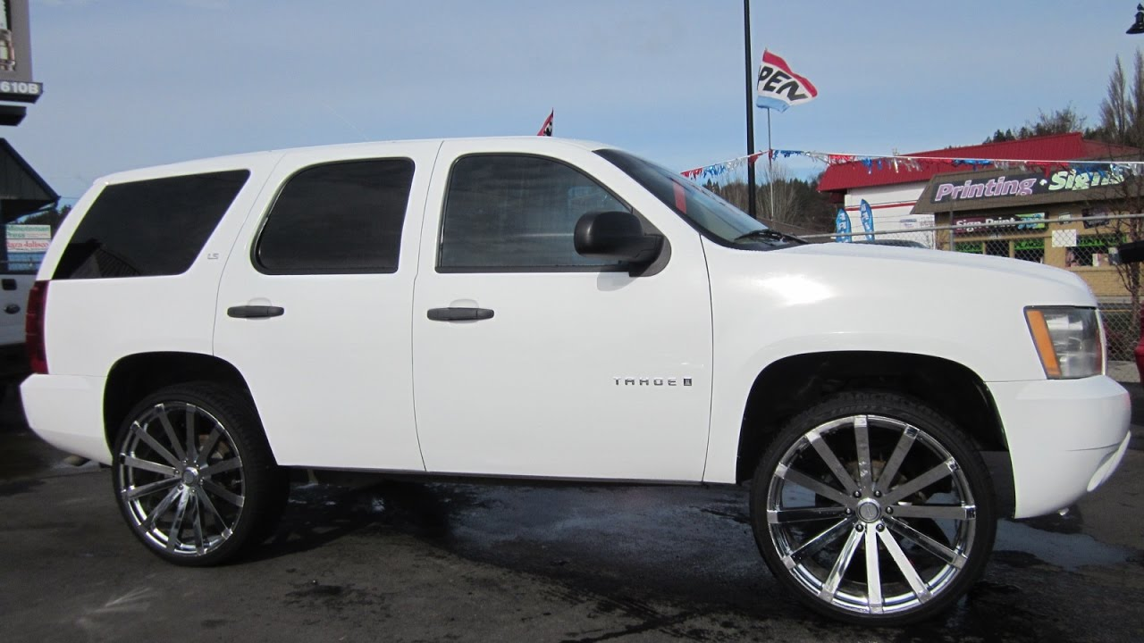 2008 CHEVY TAHOE LS 4X4 SOLD!! - YouTube