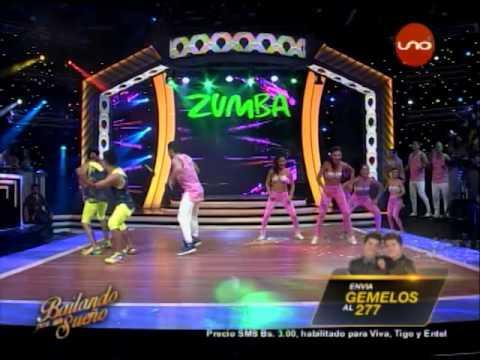 ¡Los Gemelos Guachalla bailan #Zumba! #Bailando2017
