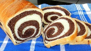 SWIRL BREAD RECIPE - Toast / Sandwich Bread
