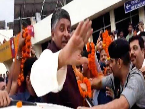 Ravi Shankar Prasad, R.K. Sinha Supporters Clash In Patna   Master Stroke   ABP News