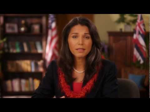 """""""Tulsi Gabbard Calls For End to War in Afghanistan"""""""