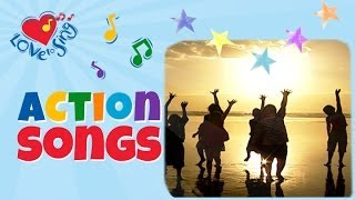 Touch the Stars | Kids Action Song | Children Love to Sing Fitness Song