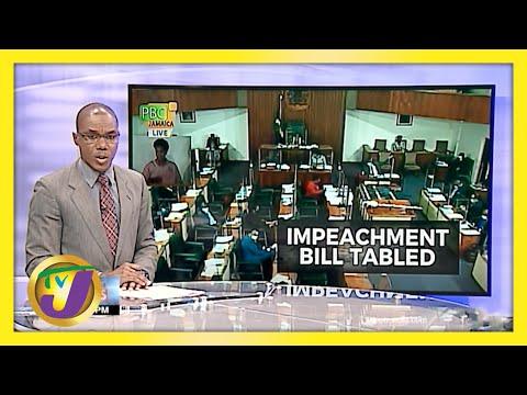 PNP Member Introduce Impeachment Bill in Jamaica's Parliament | TVJ News