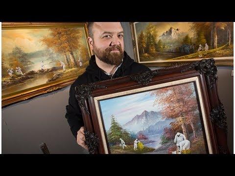 Ottawa artist's disaster 'hacks' of older paintings finds fresh shelter at Diefenbunker
