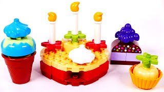 Ice Cream and Cake Lego Duplo Playset for Children