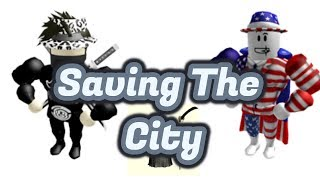 Roblox: SAVING THE CITY *GONE WRONG* /Behind The Scene!!! FT AZEND SUPER POWER TRAININGSSIMULATOR