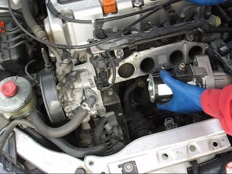 Acura RSX Base Starter And Knock Sensor Replacement YouTube - Acura rsx starter