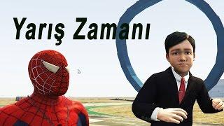 Video Şimşek Mcqueen ve Örümcek Adam, Afacan Çocuk Süper Kahramanlar Renk Değiştiren Arabalar yarışıyor download MP3, 3GP, MP4, WEBM, AVI, FLV November 2017