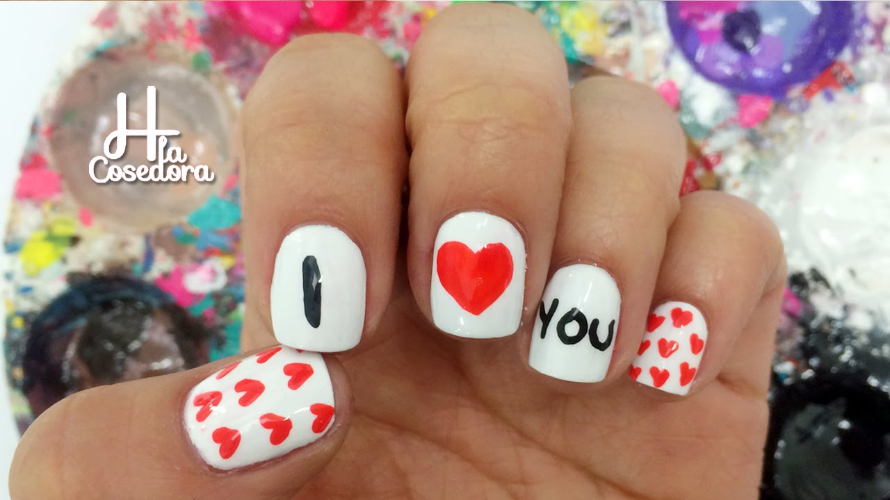 Decoracion de u as san valentin valentine 39 s day nail art - Decoracion para san valentin ...