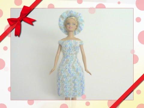Barbie\'s - Half Double Crochet Dress - YouTube