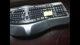 Microsoft Natural Ergonomic USB Keyboard 4000 Review: