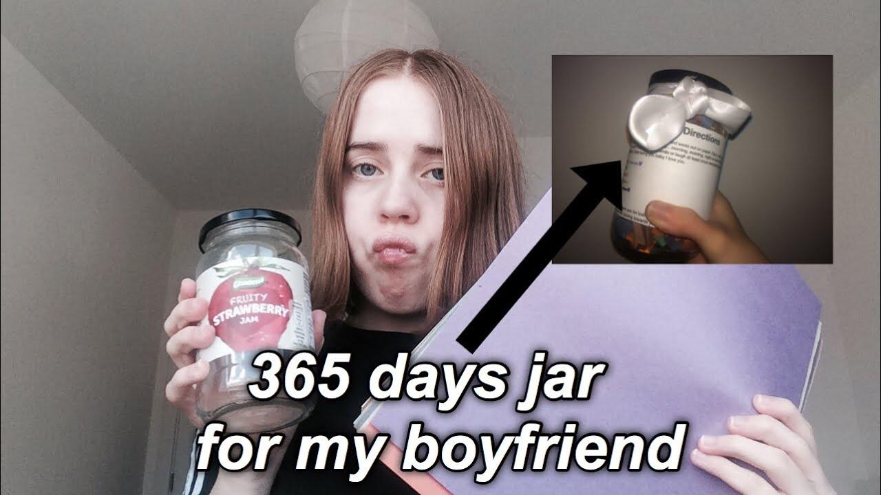 Diy 365 Days Jar For My Boyfriend Youtube
