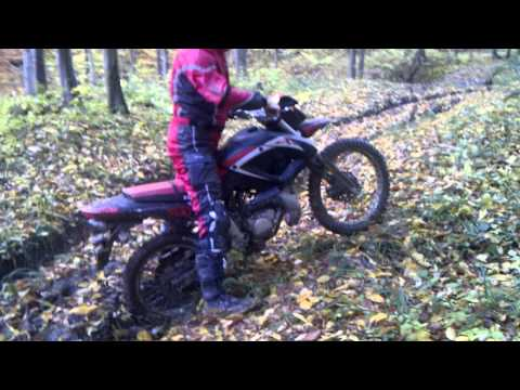 Enduro noob with chinese motorcycle Keeway