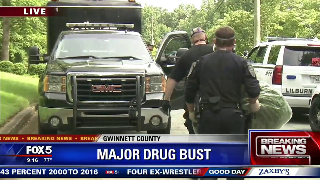 Major drug bust in Gwinnett County