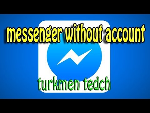 How To Log In To Facebook Messenger Without Facebook Account (2016)