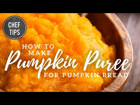 Pumpkin Puree Recipe - How To Make Fresh Pumpkin Puree