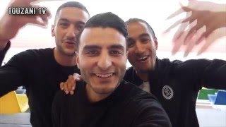 ZIYECH & CABRAL - FOOTBALL VLOG #8 ( TOUZANI TV )