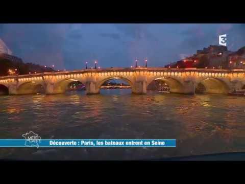 Les Bateaux-Mouches dans l'émission Météo à la Carte