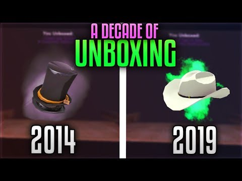 [TF2] What Opening Cases Over A DECADE Gets You...