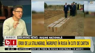 TALK B1-RUSINE NATIONALA, EROII DE LA STALINGRAD, INGROPATI IN RUSIA IN CUTII DE CARTON