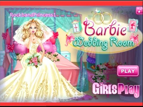 Barbie games barbie wedding room decoration and dress up game youtube junglespirit Gallery