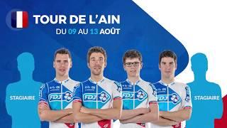 Composition de l'équipe FDJ pour le Tour de l'Ain