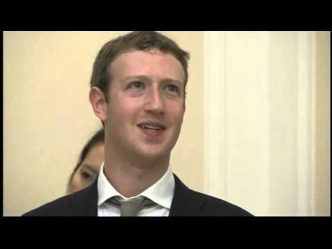 마크 주커버그, 박 대통령 예방 Mark Zuckerberg visit south korea