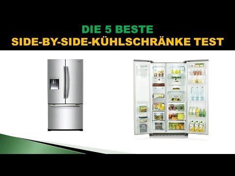 besten side by side k hlschr nke test youtube