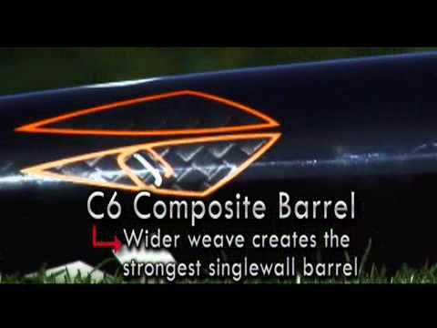 2010 DeMarini Vendetta C6 -10 Senior League Baseball Bat: DXVCR