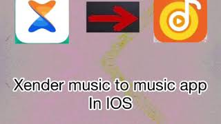 Xender music to music app in Ios screenshot 5