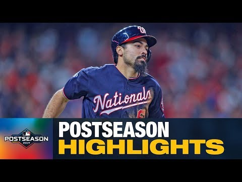 Anthony Rendon 2019 MLB Postseason Highlights (Nationals star dominated! .328, 3 HRs, 15 RBIs)