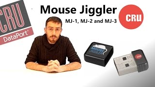 CRU-DataPort Jiggler 30200-0100-0021 10-pack of Mouse Jiggler MJ-1  (automatic mouse activity dongle -- slow heartbeat so you can continue  using the