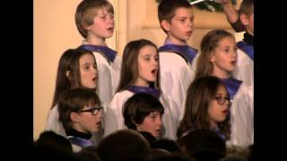 5th Grade Chorus at Immanuel Lutheran Church, St. Charles, Missouri