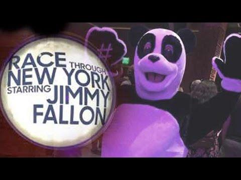 NEW Race Through New York Starring Jimmy Fallon at Universal Orlando - FULL Queue & Entertainment