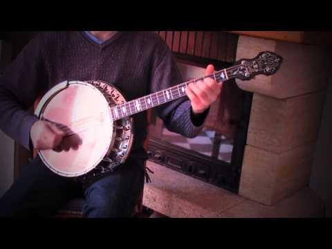 Irish tunes on tenor banjo. Brown coffin hornpipe - Tierney's jig