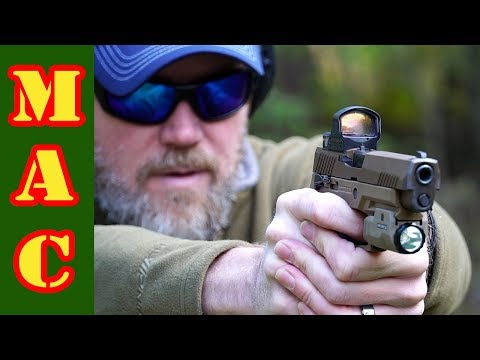 Sig Sauer M17 Army Pistol with DeltaPoint Pro