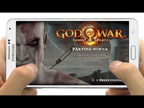 Descargar God of War Ghost of Sparta para Celulares Android  El Mejor Juego