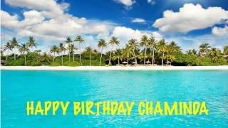 Chaminda   Beaches Playas - Happy Birthday