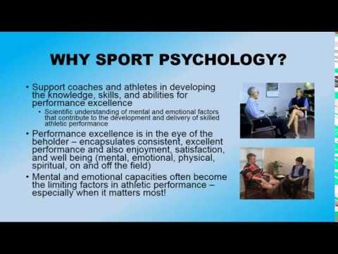 So, You Want to Be a Sport Psychology Professional?