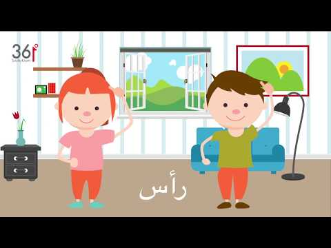 Body Parts in Arabic thumbnail