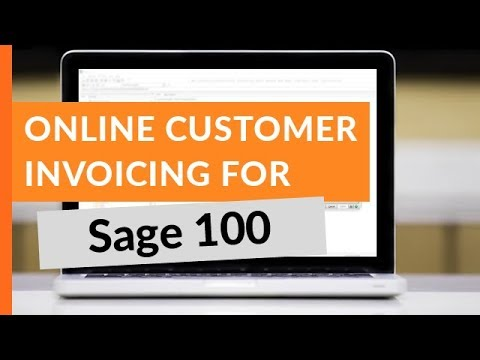 Customer invoicing and bill pay for sage 100 youtube customer invoicing and bill pay for sage 100 century business solutions reheart Image collections