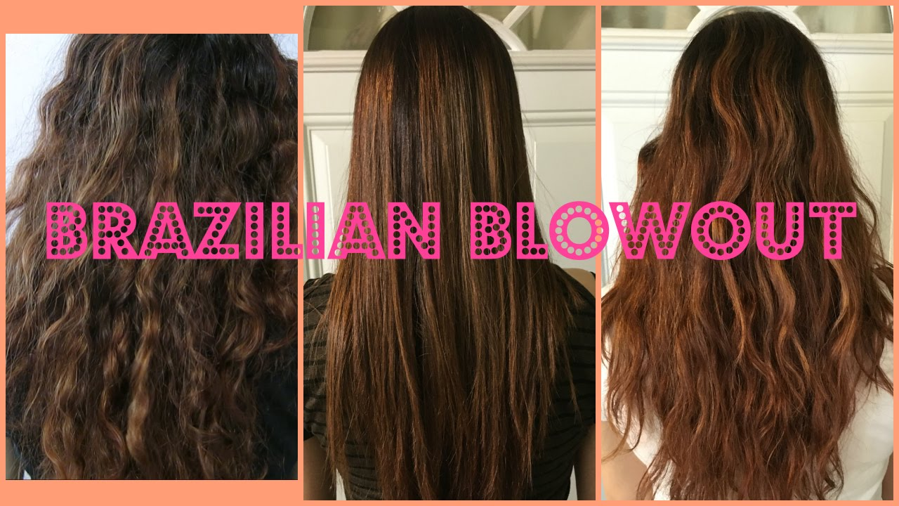 my brazilian blowout experience! before & after!