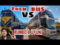 Viajando a UYUNI Tren VS Bus | ¿Cuál es mejor?
