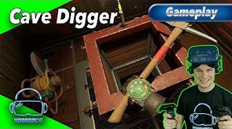 Cave Digger - Wir spielen Minenarbeiter [Let's Play][Gameplay][German][Vive Pro][Virtual Reality]