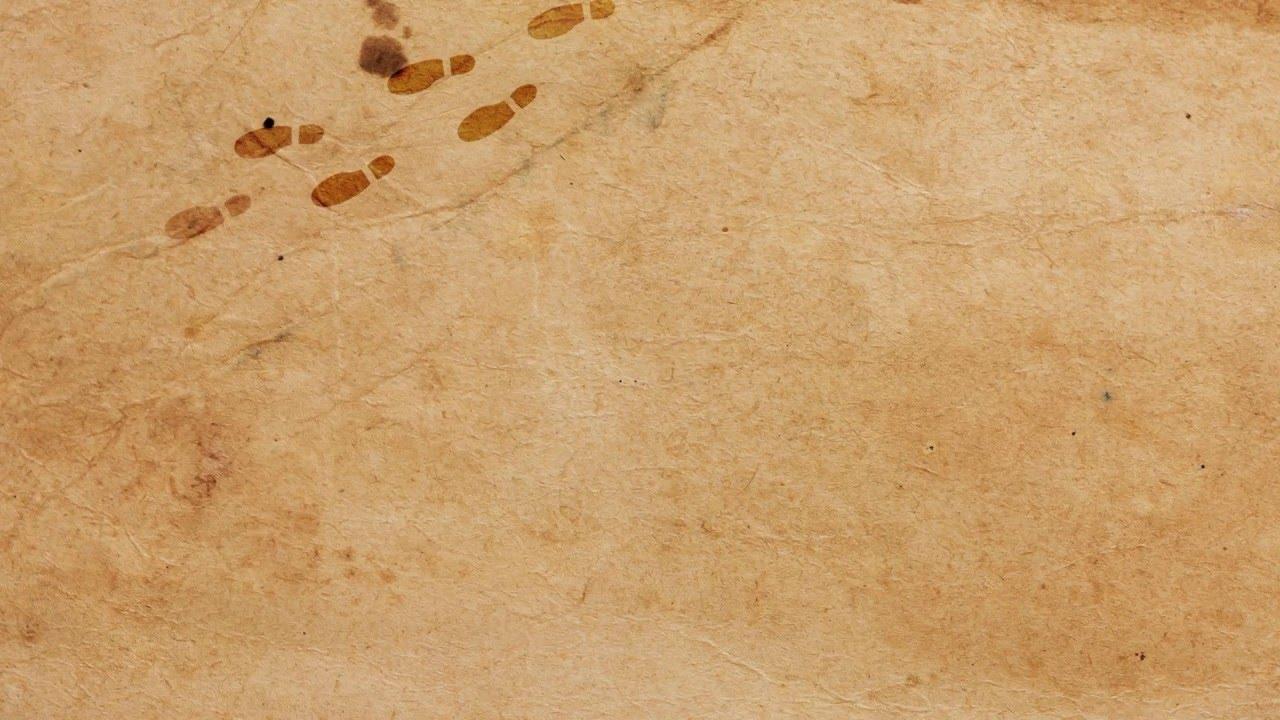 Marauders Map Footprints - YouTube