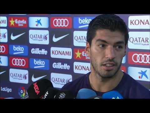 Luis Suárez responde a Filipe Luis