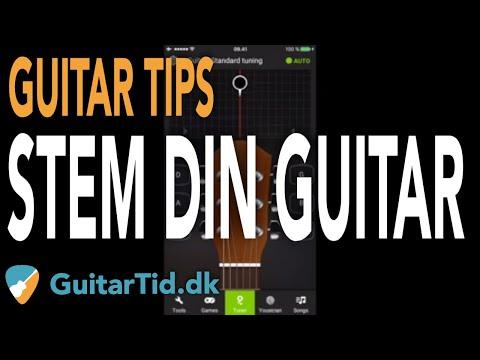 De 2 letteste måder at stemme guitar!
