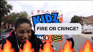 If Kidzbop did rap vol.3 - REACTION