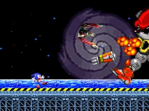 Sonic 2 Secret Final Boss - Mecha Mighty (sprite animation)